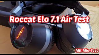 Roccat Elo Air 7.1 Wireless Headset im Test: Gut für 100 Euro?