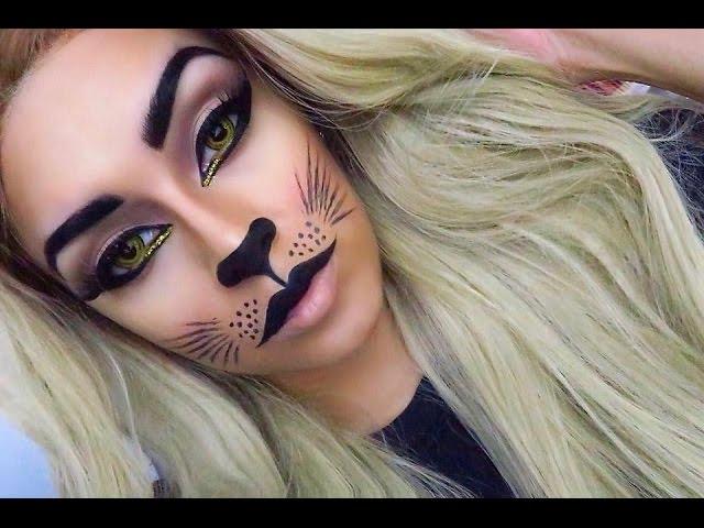 Maquillaje De Gato Para Halloween maquillaje gatuno halloween makeup