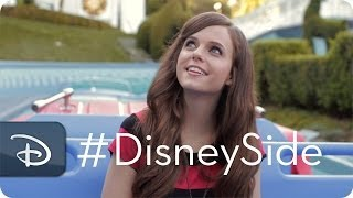 Tiffany Alvord Sings 'It's A Small World' | Disney Side