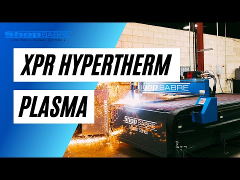 ShopMaster Pro Series CNC Plasma Machine with Hypertherm XPR Plasma Technologyvideo thumb