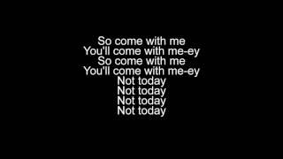 Gambar cover Not Today - Imagine Dragons (lyrics video)
