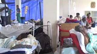 preview picture of video '2010 Haitian EQ Good Samaritan Hospital'