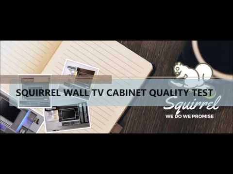 Squirrel Wall TV cabinet Quality Test