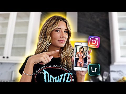 HOW I EDIT MY INSTAGRAM PHOTOS!!** MY GREEN JUICE RECIPE!!