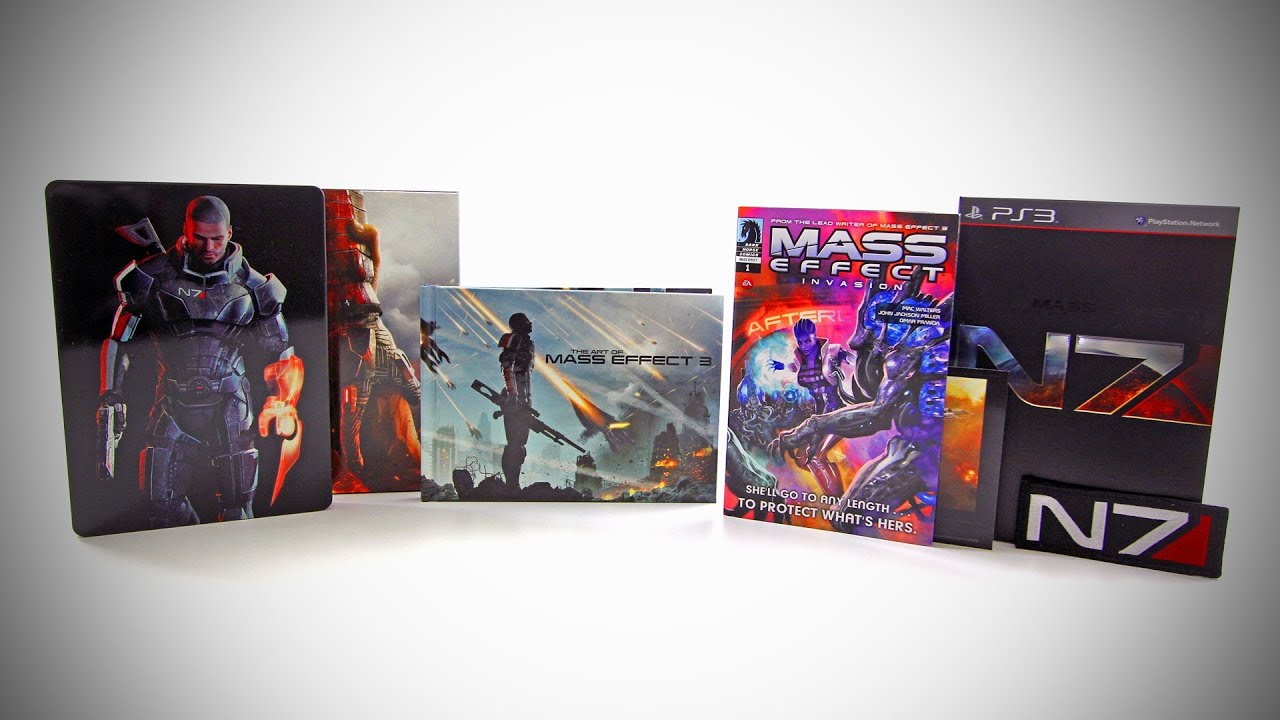 Mass Effect 3 Collector's Edition Unboxing thumbnail