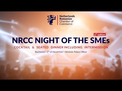 NRCC NIGHT OF THE SMEs in Bucharest, 6th Edition