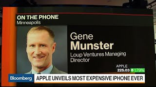 Apple Shows Mastery of Pricing Tiers With New iPhones, Munster Says