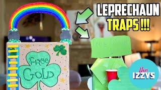 WE MAKE LEPRECHAUN TRAPS!!!