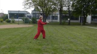 preview picture of video 'Vorführung am World Tai Chi & Qigong Day 2014 im Kirchlenger TV Häver'
