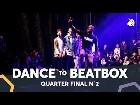 BOY MIJO vs KENZO ALVARES feat. JAYTON & DHARNI | Dance Battle To The Beatbox 2018 | 1/4 Final