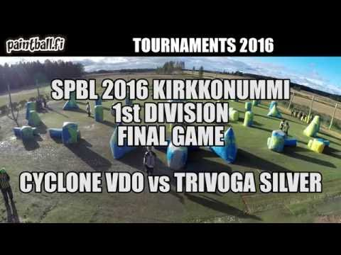 Cyclone VDO vs Trivoga Silver - Final Game - SPBL2016 Kirkkonummi