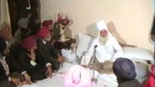 Gobind Sadan – Baba Virsa Singh ji speaking to Sikh scholars