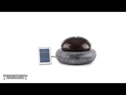💎 Schöner & meditativer Solarbrunnen für den Garten - Welchen Solarbrunnen kaufen - Gartenbrunnen