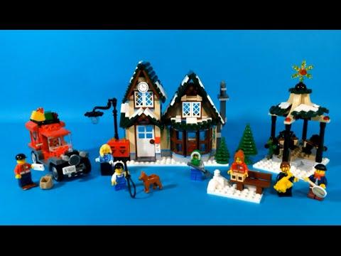 Vidéo LEGO Creator 10222 : La poste du village d'hiver
