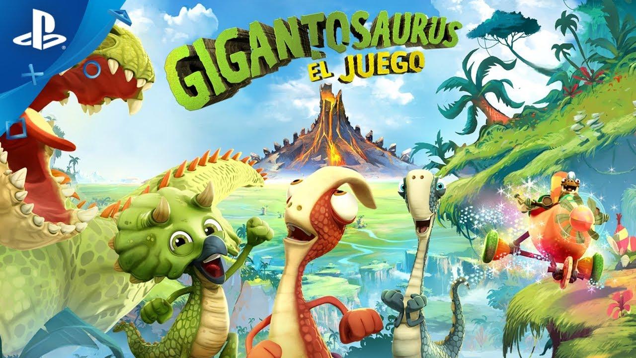 Ya está a la venta para PS4 el videojuego familiar  Gigantosaurus: El Juego