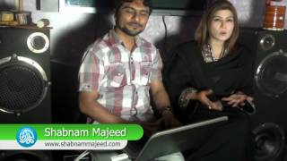 Shabnam Majeed is Launching her official website through Kamran Hayat CEO. Kamariiadd