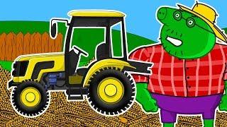 Мультики про машинки - Синий Трактор - Все серии подряд - Мультфильмы 2018 - Смотреть мультфильмы