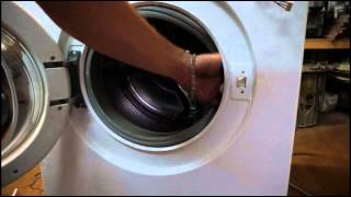 Как снять УБЛ (замок) стиральной машины Бош. Видео №21