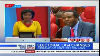 Select committee receiving views on electoral law changes