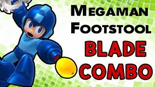 Megaman Footstool Blade Combo! (Smash Wii U/3DS)