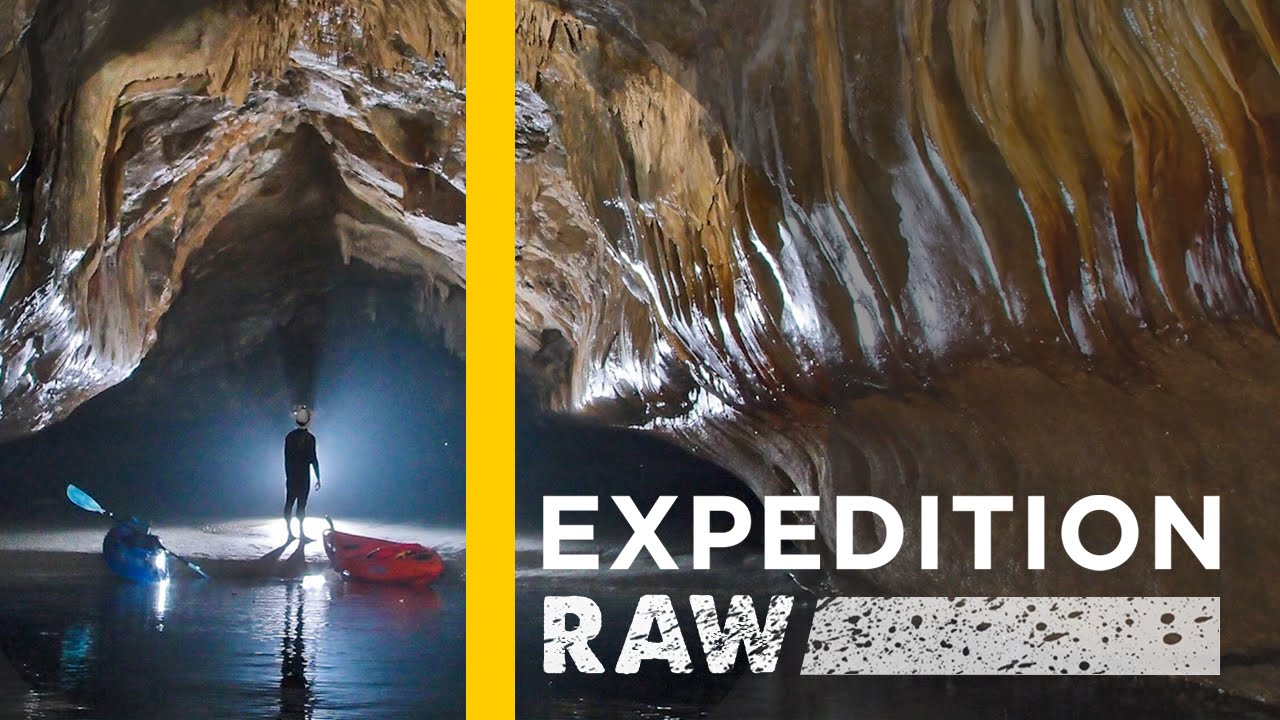 Watch: Inside the World's Longest Sea Caves | Expedition Raw thumbnail