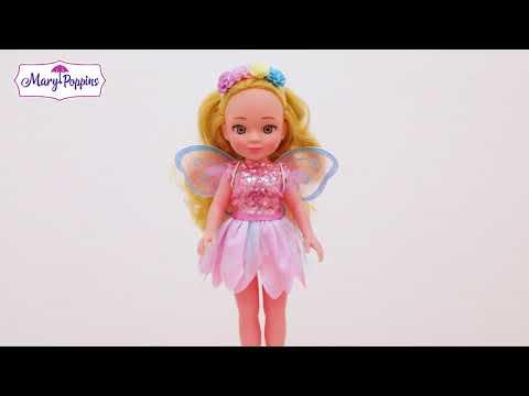 """Кукла """"Волшебное превращение"""" 2в1 Фея цветов"""