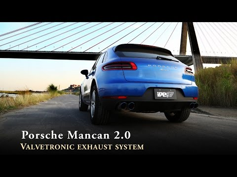 The iPE exhaust for Porsche 95B Macan 2.0