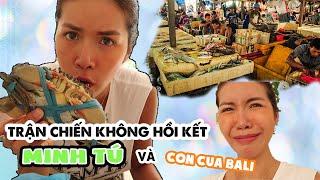 MINH TÚ VẬT LỘN VỚI CON CUA - JIMBARAN BALI | Minh Tú Official