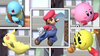 Which Characters Can Wall Jump In Super Smash Bros Ultimate?