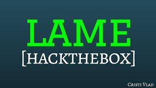 Lame from HackTheBox - CTF Walkthrough [Samba Exploit]