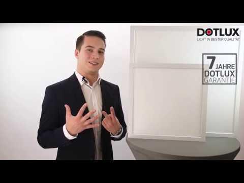 DOTLUX LED-Aufbauleuchte PANELbig mit ColorSelect