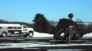 preview picture of video 'Army Kiowas, Blackhawks land at Wellsboro-Johnston Airport'