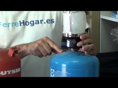 Adaptador Convertidor accesorio 🟦azul Campingaz a botella 🟠naranja Butsir