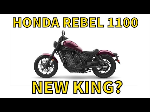 First Ride! Honda rebel 1100 Review DCT Dual Clutch Transmission with Top Speed from MotoCity