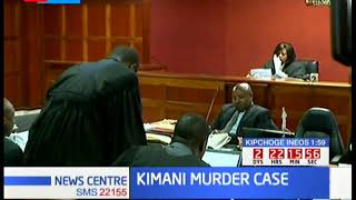 Kimani Murder Case: Trial continues at Milimani Law Courts