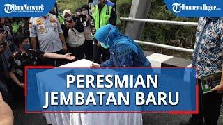 Sempat Hanyut Terbawa Aliran Sungai, Jembatan Gerendong Bogor yang Baru Akhirnya Selesai Dibangun
