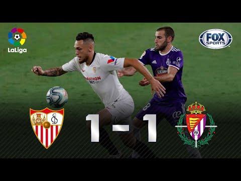 EMPATE SOFRIDO! Veja os melhores momentos de Sevilla 1 x 1 Real Valladolid pela La Liga