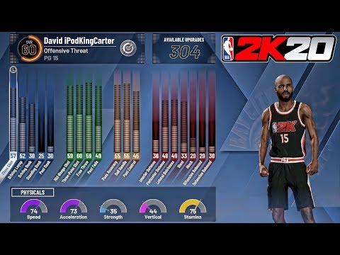 NBA 2K20 MyCAREER - HOW MUCH VC IT COSTS TO UPGRADE TO 85 OVERALL! BEST 2K20 BUILD (PLAY SHARP)