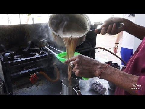 Indien Indischer Ingwer-Gewürztee Zubereitung Ingwer Zimt Kardamom Tee mit Milch