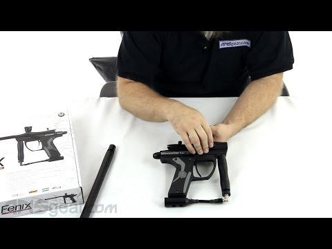 2012 Kingman Spyder Fenix Electronic Paintball Gun – Review