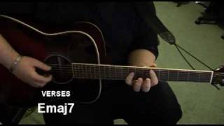 """""""Found A Way"""" (Acoustic) - Guitar Tutorial (Part A)"""