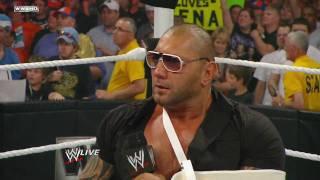 Raw: Batista quits WWE
