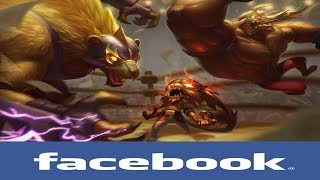 If league of legends Champions had Facebook #17 (Battle Royale)