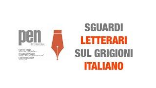 """'""""Sguardi letterari sul Grigioni italiano"""" - diretta streaming' episoode image"""