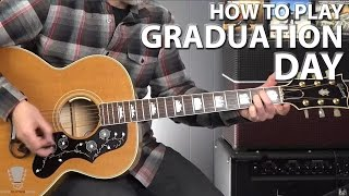 How to Play Graduation Day by Chris Isaak - Guitar Lesson