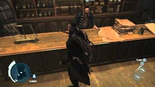 Assassin's Creed 3 - All Outfits and How to Get Each *HOOD PATCHED BACK ON!*