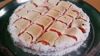 Простой  и быстрый пирог с вареньем  Quick cake