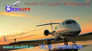 Take Reliable Air Ambulance Services from Patna to Delhi for Easy Transport