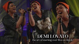 Demi Lovato - The Art Of Starting Over (Live)