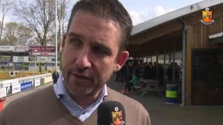 Reactie Gert Jan Karsten op HHC Hardenberg - Barendrecht